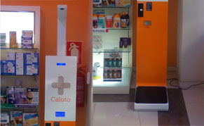 Farmacia Caloto apuesta por la báscula para farmacia Health Point