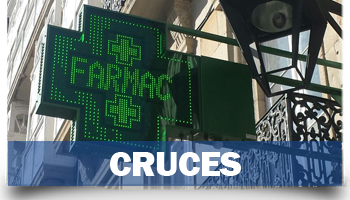 Cruces de farmacia LED