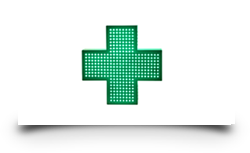 Cruz de farmacia Junior