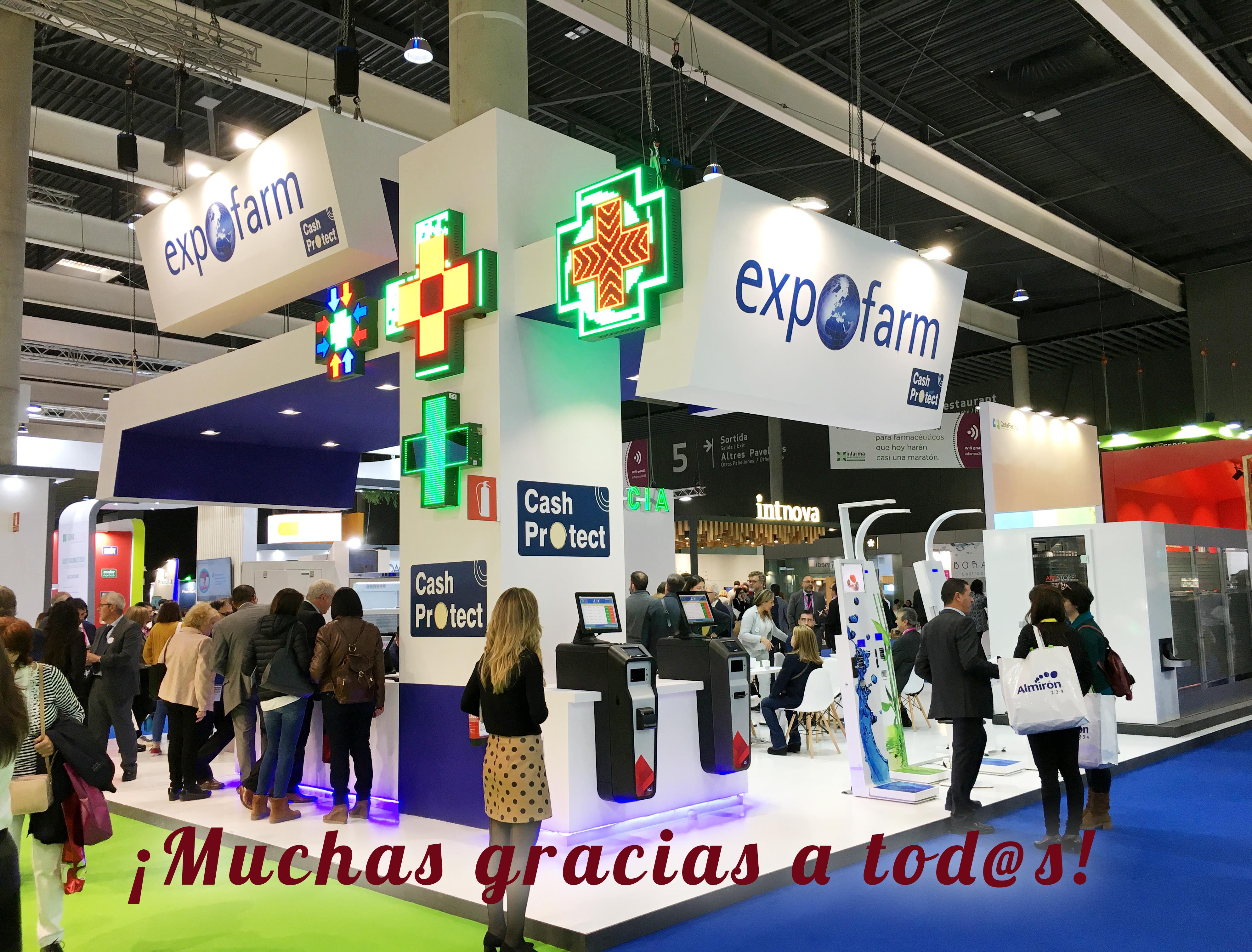 Éxito de participación en el stand de Expofarm de Infarma 2019