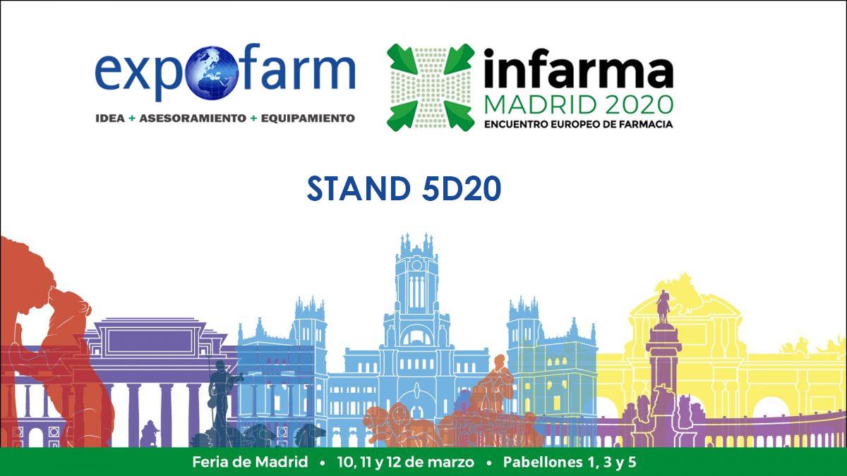 Expofarm estará presente en Infarma Madrid 2020