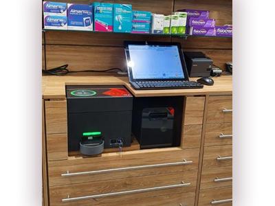 Sistema de gestión del efectivo al interior del mueble