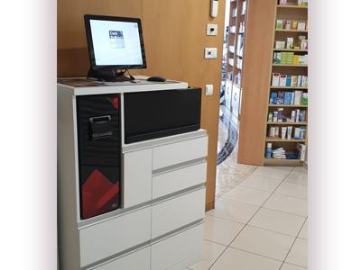 CashProtect integrado en el mueble