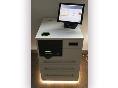 Mueble diseñado para CashProtect