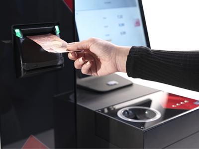 Aceptación de billetes en CashProtect