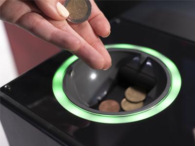 unidad de monedas de CashProtect