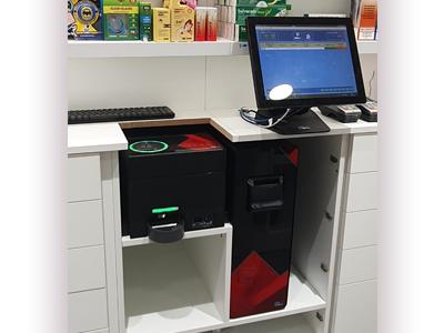 Inicio de la integración del CashProtect en el mostrador