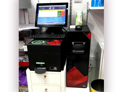 Control de efectivo CashProtect encima del mostrador